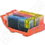 Multipack of Compatible Canon CLi-526 Colour Inks