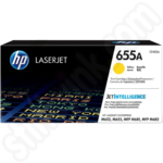 HP 655A Yellow Toner Cartridge