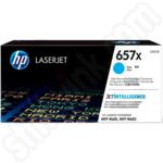 Extra High Capacity HP 657X Cyan Toner Cartridge