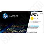 Extra High Capacity HP 657X Yellow Toner Cartridge