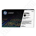 High Capacity HP 654X Black Toner Cartridge