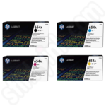 Multipack of HP 654 Toner Cartridges
