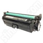 Remanufactured HP 652A Black Toner Cartridge