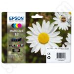 Multipack of Epson 18 Ink Cartridges