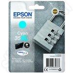 High Capacity Epson 35XL Cyan Ink Cartridge