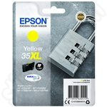 High Capacity Epson 35XL Yellow Ink Cartridge