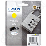 Epson 35 Yellow Ink Cartridge