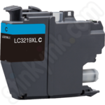 Compatible High Capacity Brother LC3219XLC Cyan Ink Cartridge