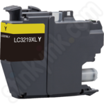 Compatible High Capacity Brother LC3219XLY Yellow Ink Cartridge