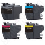 Compatible Multipack of High Capacity Brother LC3219XL Ink Cartridges