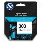 HP 303 Tri-Colour Ink Cartridge