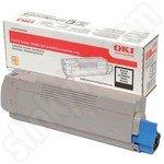 High Capacity Oki 46490608 Black Toner Cartridge