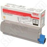 High Capacity Oki 46490608 Black Toner Cartridge