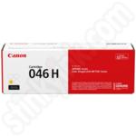 High Capacity Canon 046H Yellow Toner Cartridge