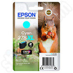 High Capacity Epson 378XL Cyan Ink Cartridge