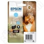 High Capacity Epson 378XL Light Cyan Ink Cartridge