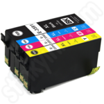 Compatible Multipack of High Capacity Epson 35XL Ink Cartridges