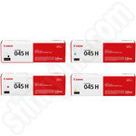 High Capacity Multipack of Canon 045H Toner Cartridges