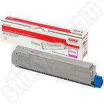 Oki 46507614 Magenta Toner Cartridge