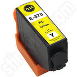 Compatible High Capacity Epson 378XL Yellow Ink Cartridge