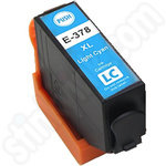 Compatible High Capacity Epson 378XL Light Cyan Ink Cartridge