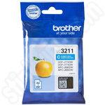 Brother LC3211C Cyan Ink Cartridge