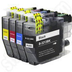 Multipack of Compatible High Capacity Brother LC3213 Ink Cartridges