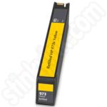 Refilled High Capacity HP 973X Yellow Ink Cartridge