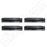 Compatible High Capacity Multipack of HP 203X Toner Cartridges