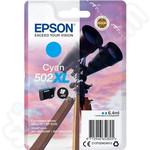 High Capacity Epson 502XL Cyan Ink Cartridge