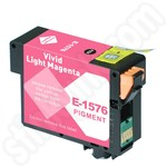 Compatible Epson T1576 Vivid Light Magenta Ink Cartridge