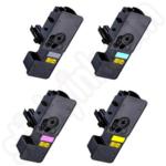Compatible Multipack of Kyocera TK5230 Toner Cartridges