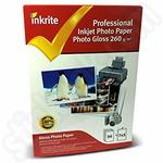 Inkrite Professional 7x5 Glossy Photo Paper - 50 Sheets
