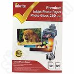Inkrite Premium A4 Glossy Photo Paper - 50 Sheets