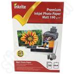Inkrite 6x4 PhotoPlus Professional Matte Photo Paper - 50 Sheets