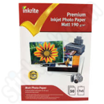 Inkrite 7x5 PhotoPlus Professional Matte Photo Paper - 50 Sheets