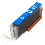 Compatible Extra High Capacity Canon CLi-581XXL Cyan Ink Cartridge