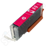 Compatible Extra High Capacity Canon CLi-581XXL Magenta Ink Cartridge