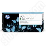HP 747 Chromatic Green Ink Cartridge