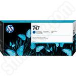 HP 747 Chromatic Blue Ink Cartridge