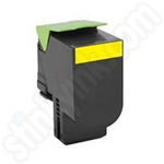 Remanufactured High Capacity Lexmark 71B2HY0 Yellow Toner Cartridge
