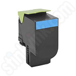 Remanufactured Lexmark 71B20C0 Cyan Toner Cartridge