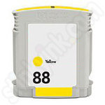 Compatible HP 88 Yellow ink Cartridge