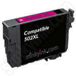 Compatible High Capacity Epson 502XL Magenta Ink Cartridge