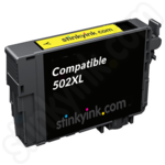 Compatible High Capacity Epson 502XL Yellow Ink Cartridge