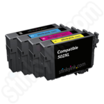 Compatible Multipack of  High Capacity Epson 502XL Ink Cartridges