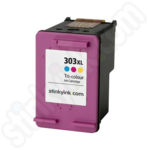 Refilled High Capacity HP 303XL Tr Colour Ink Cartridge