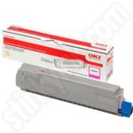 High Capacity Oki 46443102 Magenta Toner Cartridge