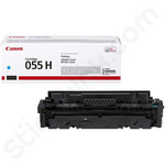 High Capacity Canon 055H Cyan Toner Cartridge