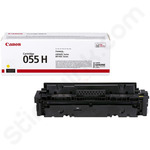 High Capacity Canon 055H Yellow Toner Cartridge